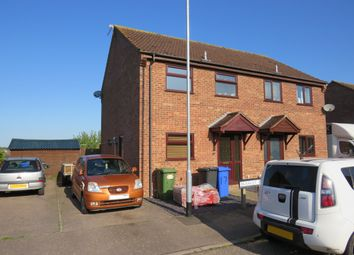 Thumbnail 3 bed semi-detached house to rent in Bramley Rise, Beccles