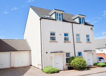 Thumbnail 3 bed semi-detached house for sale in Swallow Way, Cullompton