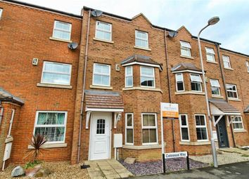 Thumbnail 3 bed town house for sale in Colossus Way, Bletchley, Milton Keynes