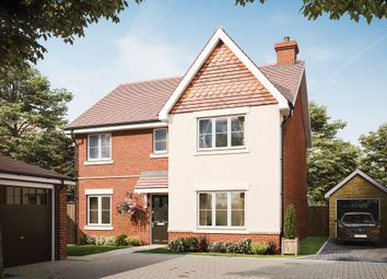 Thumbnail 4 bed detached house for sale in Minley Road, Farnborough