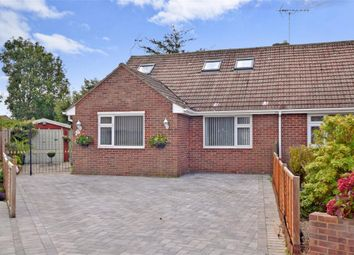 Thumbnail 3 bed bungalow for sale in Fletcher Close, Bognor Regis, West Sussex