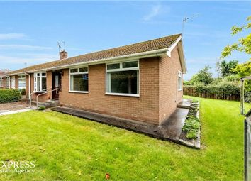 Thumbnail 3 bed semi-detached bungalow for sale in The Close, Spennymoor, Durham