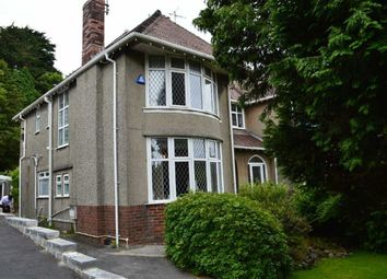 Thumbnail 4 bedroom semi-detached house for sale in Sketty Park Drive, Swansea