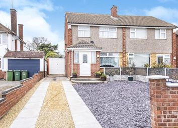 Thumbnail 3 bed semi-detached house for sale in The Bridle, Glen Parva, Leicester, Leicestershire