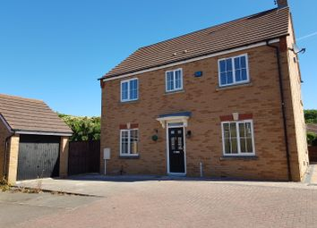 Thumbnail 4 bed detached house for sale in Peck Way, Rushden