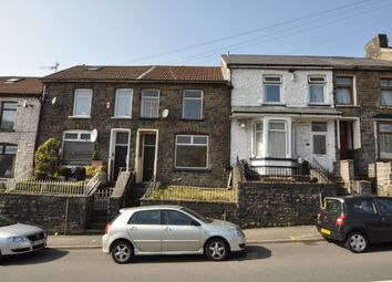Thumbnail 3 bedroom terraced house to rent in Pleasant View, Tylorstown, Ferndale
