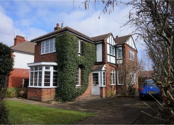 Thumbnail 3 bed detached house for sale in Carnarvon Avenue, Grimsby