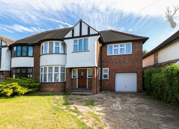 Thumbnail 4 bed semi-detached house to rent in Grange Crescent, Chigwell