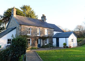 Thumbnail 4 bedroom detached house for sale in Glan-Y-Nant, Eglwyswrw, Crymych, Pembrokeshire