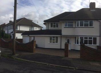 Thumbnail Semi-detached house to rent in Pine Gardens, Ruislip Manor, Ruislip
