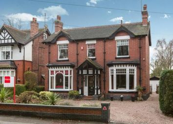 Thumbnail 4 bed detached house for sale in Station Road, Alsager, Stoke-On-Trent, Cheshire
