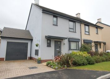 Thumbnail 3 bed semi-detached house for sale in White Rock Close, Paignton