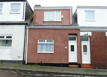 Thumbnail 2 bedroom terraced house for sale in Shepherd Street, Sunderland, Tyne And Wear