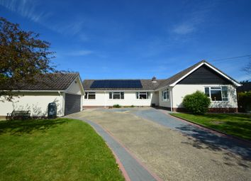 Thumbnail 5 bed detached bungalow for sale in Chimney Street, Hundon, Sudbury