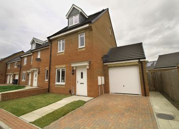 Thumbnail 3 bedroom semi-detached house for sale in Williston Close, Newcastle Upon Tyne