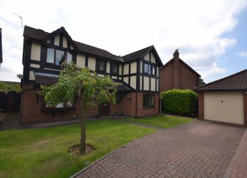Thumbnail 4 bed detached house for sale in Bishopdale Close, Whittle Hall, Warrington