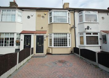 Thumbnail 2 bed terraced house for sale in Harwood Avenue, Hornchurch