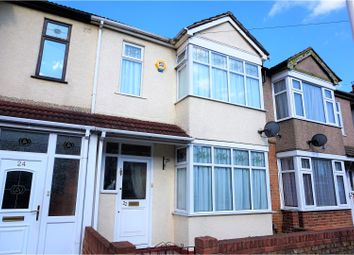 Thumbnail 3 bedroom terraced house for sale in Brooklands Road, Romford