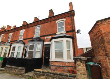 Thumbnail 3 bed end terrace house for sale in Loscoe Road, Carrington, Nottingham