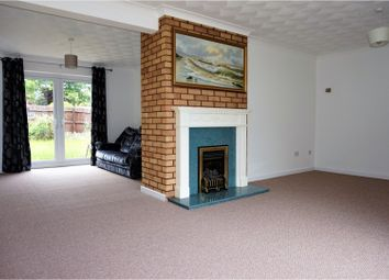 Thumbnail 4 bedroom detached house for sale in Egar Way, Peterborough