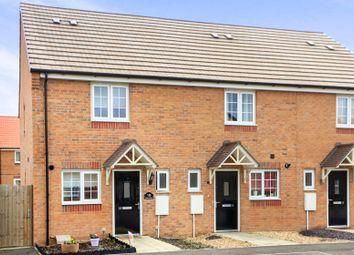 Thumbnail 2 bed end terrace house for sale in Felix Close, Cardea, Peterborough