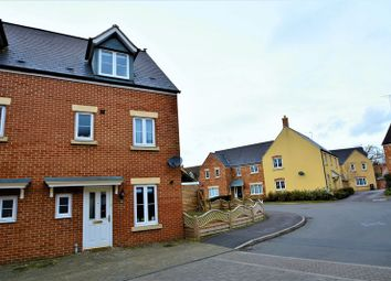 Thumbnail 4 bed semi-detached house for sale in Sandbourne Road, Hayden End, Swindon.