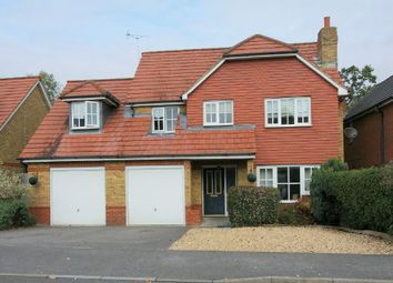 Thumbnail 5 bed detached house for sale in Blueberry Gardens, Andover