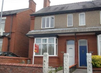 Thumbnail 1 bed property to rent in New Road, Rhosddu