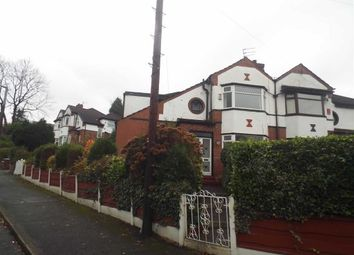 Thumbnail 3 bed semi-detached house for sale in Edenfield Road, Prestwich, Manchester