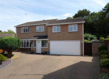 Thumbnail 5 bed detached house for sale in Royle Close, Orton Longueville, Peterborough