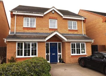 Thumbnail 4 bed detached house for sale in Brunel Drive, Biggleswade, Bedfordshire