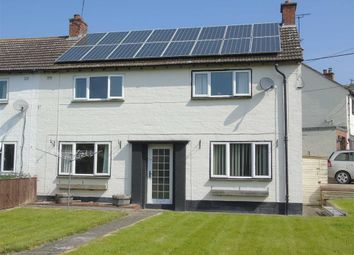 Thumbnail 3 bed semi-detached house for sale in 31, Pentre Gwyn, Trewern, Welshpool, Powys