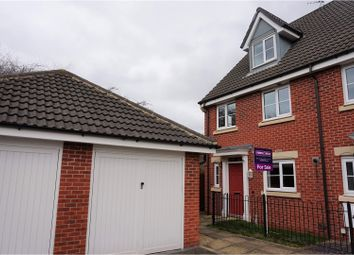 Thumbnail 4 bed town house for sale in Parkway, Chellaston