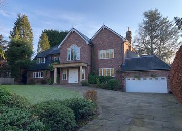 Thumbnail 4 bedroom detached house to rent in Carwood, Hale Barns