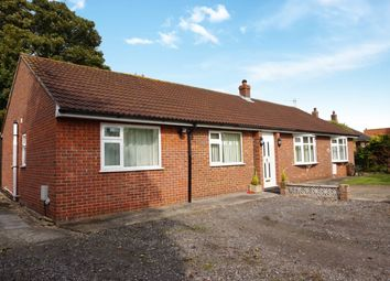Thumbnail 4 bed detached bungalow for sale in Main Road, Withern