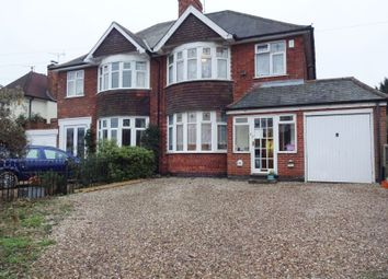 Thumbnail 3 bed semi-detached house for sale in 196 Braunstone Lane, Leicester