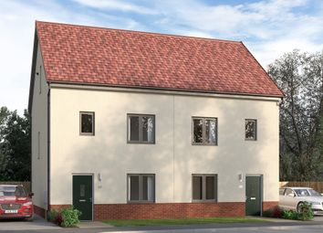 """Thumbnail 4 bed semi-detached house for sale in """"The Luxbridge"""" at East Kilbride, Glasgow"""