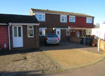 Thumbnail 3 bed semi-detached house for sale in Greskine Close, Bedford