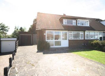Thumbnail 3 bed semi-detached house for sale in Wadhurst Avenue, Luton