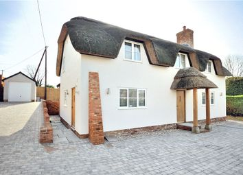 Thumbnail 3 bed detached house for sale in Little England, Milborne St. Andrew, Blandford Forum