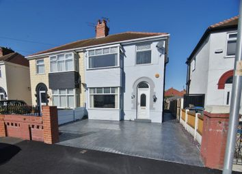 Thumbnail 3 bed semi-detached house for sale in Willows Avenue, Thornton-Cleveleys