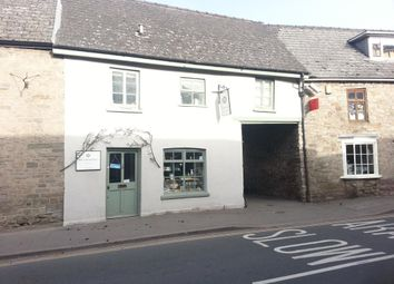 Thumbnail 2 bed terraced house for sale in Hay-On-Wye, Shop With Flat Over