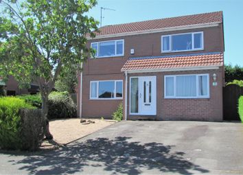 Thumbnail 4 bed detached house for sale in Elvaston Road, North Wingfield