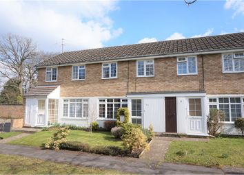 Thumbnail 3 bed terraced house for sale in Leafield Close, Woking