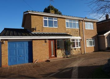 Thumbnail 4 bed detached house for sale in Martins Lane, Northampton