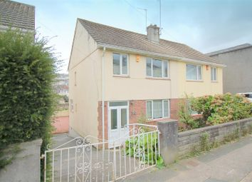 Thumbnail 3 bedroom semi-detached house for sale in Alexandra Road, Ford, Plymouth