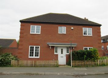 Thumbnail 4 bed detached house for sale in Kitchener Road, Anstey, Leicester