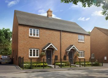"Thumbnail 3 bedroom semi-detached house for sale in ""The Silverstone"" at Heathencote, Towcester"
