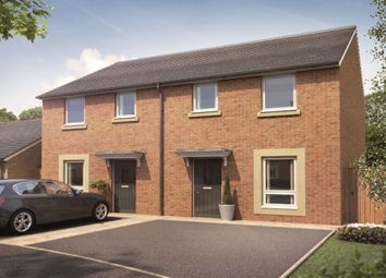 Thumbnail 3 bed semi-detached house for sale in Silver Birch Drive, Camperdown, Newcastle Upon Tyne