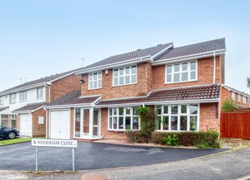 Thumbnail 4 bed detached house for sale in Woodham Close, Rednal, Birmingham